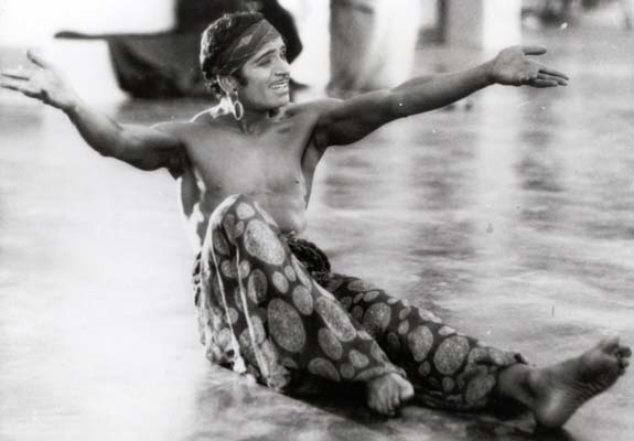 Douglas Fairbanks in THE THIEF OF BAGDAD (Il ladro di Bagdad, US 1924) di Raoul Walsh (© Photoplay Productions)