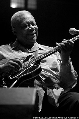 BB King, Udin&Jazz 2005, (© Luca A. d'Agostino / Phocus Agency)