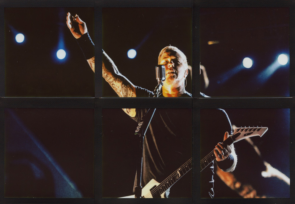 James Hetfield - Metallica | USA, 2011 - 15,4 x 20,7 cm (ph. Daniele Peluso)
