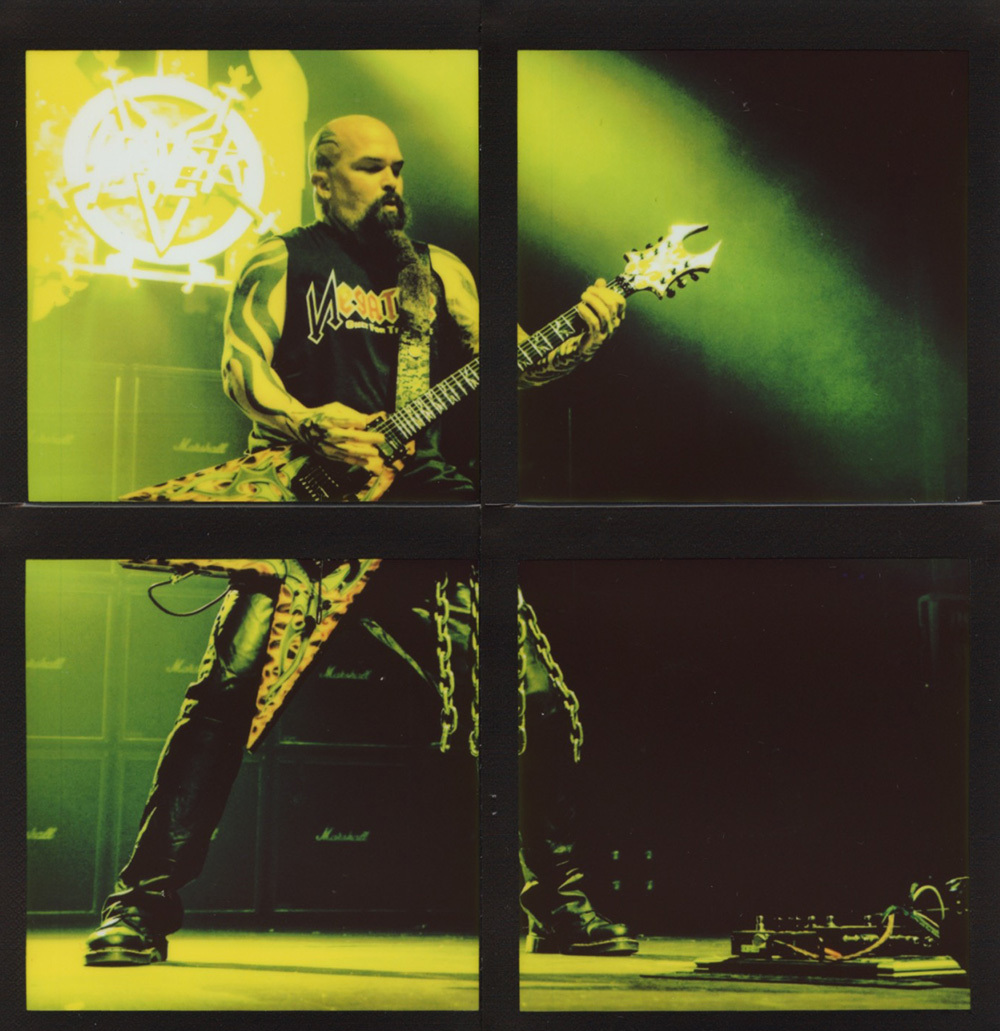 Kerry King - Slayer | USA, 2011 - 15,4 x 14 cm (ph. Daniele Peluso)