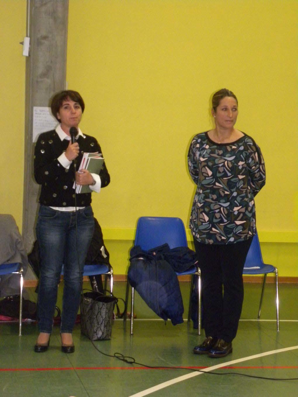 Chiara Cainero testimonial a Ruda