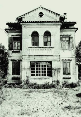 """La """"Villa delle vergini"""", uno dei due casini di Turriaco (Foto Archivio Circolo Brandl-Turriaco)"""