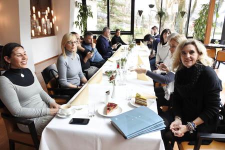 I giornalisti del FVG a Villach (ph. C. Pizzin)