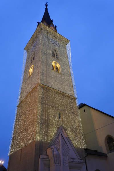 Il campanile di Villach (ph. C. Pizzin)