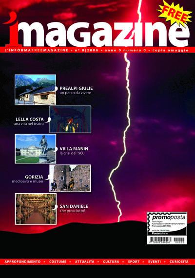 La copertina del n°0 di iMagazine, pubblicato nel gennaio del 2006