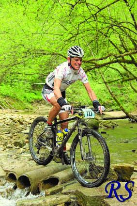 Livon ha scoperto la mountain bike dopo un infortunio della moglie