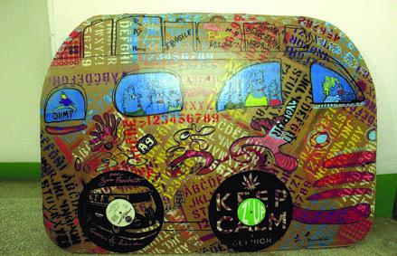 """Uno dei """"Magic Bus"""" realizzato da Lunazzi (ph. M. Tomaselli)"""