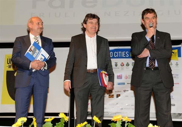 Da sinistra: Donno, Leonarduzzi e Gemo (ph. Petrussi Foto Press)