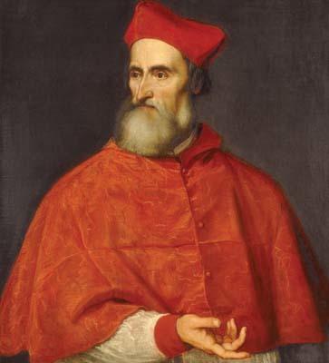 Ritratto di Pietro Bembo ad opera di Tiziano