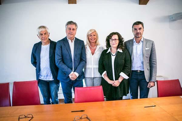 Da sinistra: De Marchi, Savino, De Marco, Uliana (ph. Udine e Gorizia Fiere)