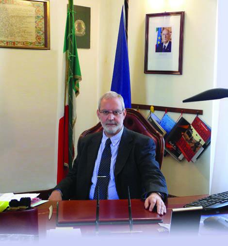 Il Questore della Provincia di Gorizia, Pier Riccardo Piovesana