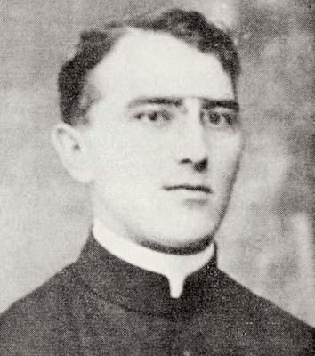 Don Nicodemo Plet, parroco di Villesse, nel 1916