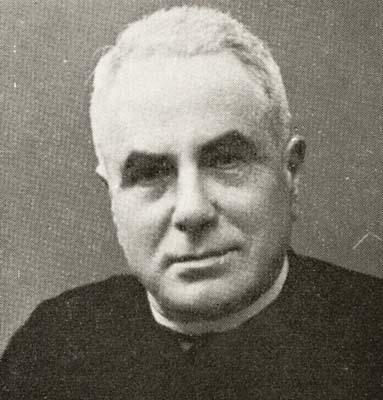 Mons. Giovanni Kren, decano di Monfalcone (Trieste 1871 - Gorizia 1944)