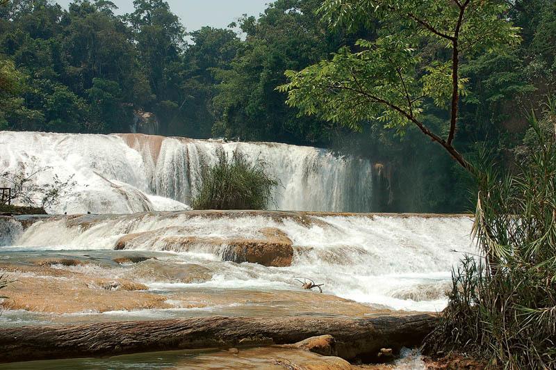 Le cascate di Agua Clara