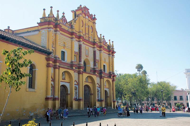 La Cattedrale di San Cristobal de las Casas