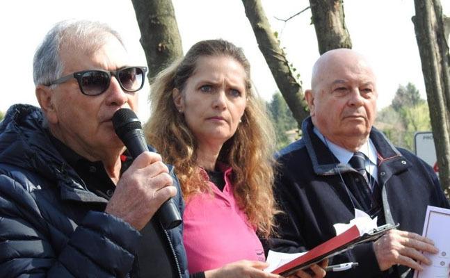 Da sinistra: Ivo Neri, Sandra Varaschin e Walter De Bortoli