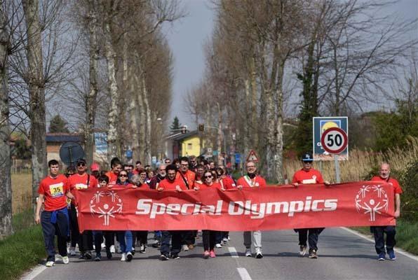 Gli atleti Special Olympics (ph. FOTO PETRUSSI)