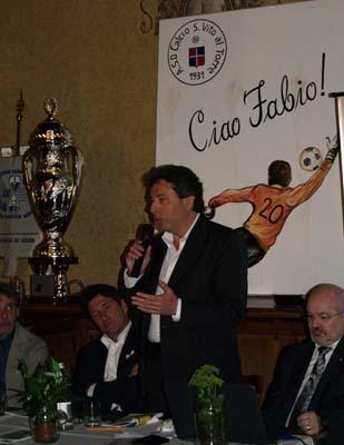 Il saluto di Ermes Canciani, presidente comitato FIGC del Friuli Venezia Giulia