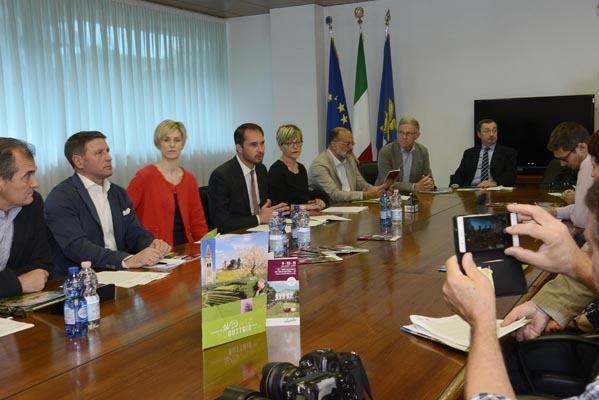 La conferenza stampa di presentazione (ph. ARC Montenero)