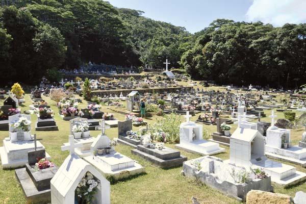 Il cimitero di La Digue (ph. C. Pizzin)