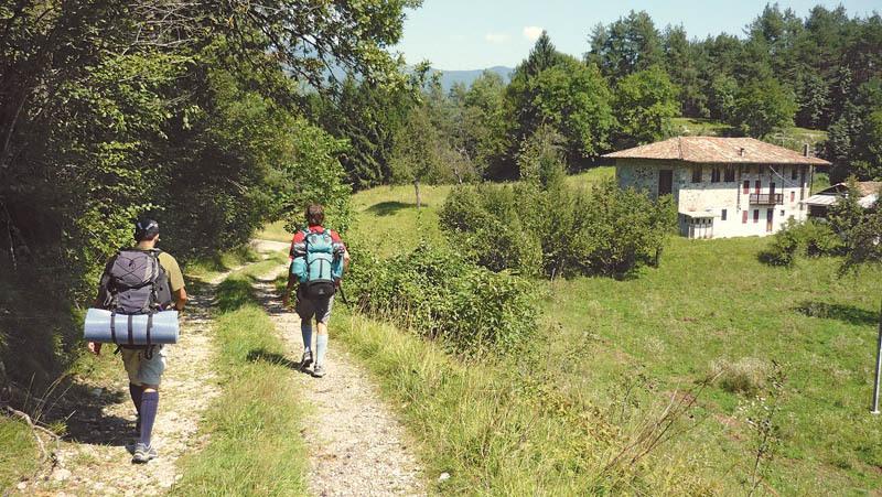 Località Lunas nella zona del Monte Corno