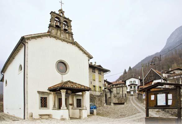 La chiesa della Santissima Trinità (ph. Igino Durisotti)