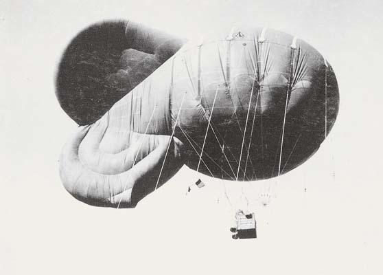 Immagine di un pallone aerostatico