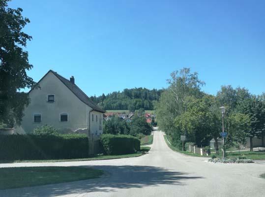 Sabato 5 agosto, da Langenbruck a Wendelstein (ph. Michele Buoro)