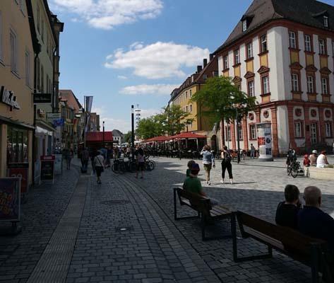 Lunedì 7 agosto, da  Weldenstein a Bayreuth (ph. Michele Buoro)