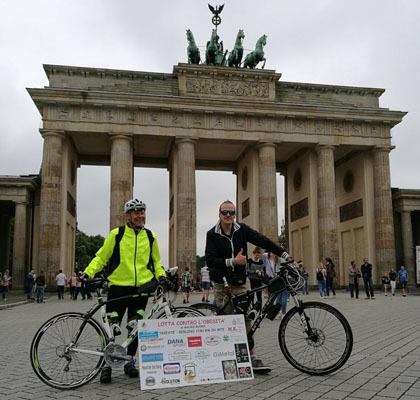 Venerdì 11 agosto, l'arrivo a Berlino (ph. Michele Buoro)