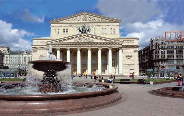 Mosca, il teatro del Bolshoj (ph. M. Tomaselli)