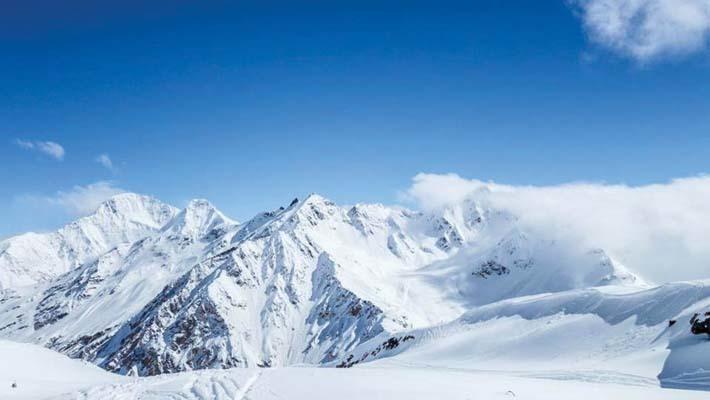 Panorama dall'Elbrus (ph. M. Tomaselli)