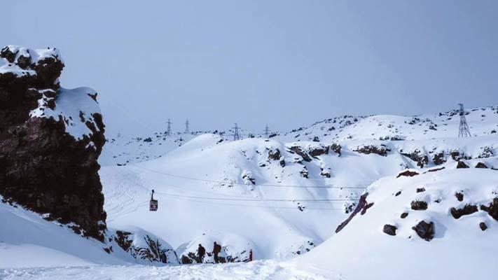 La funivia dell'Elbrus (ph. M. Tomaselli)