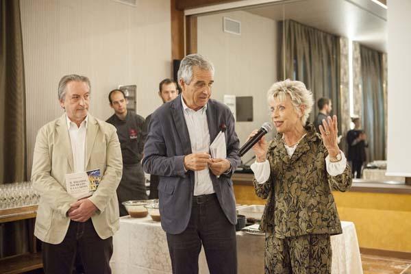Mario del Fabbro, Walter Filiputti e Flavia Cosolo