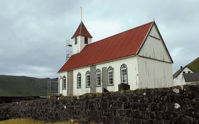 Una chiesa sull'isola di Vioy (ph. M. Tomaselli)
