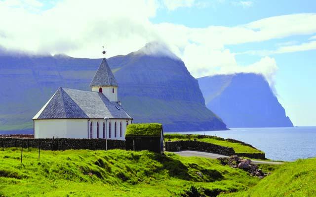 L'isola di Vioy, la Chiesa del villaggio di Viareii (ph. M. Tomaselli)
