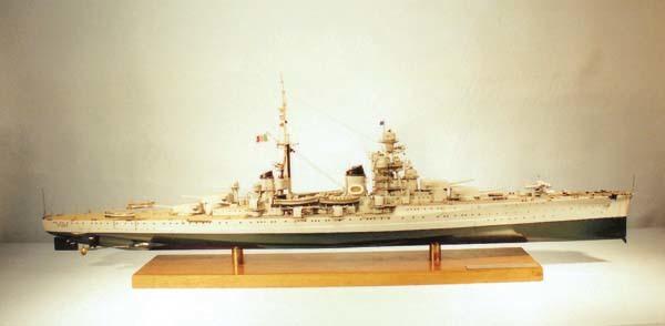 L'incrociatore Fiume (scala 1:200)