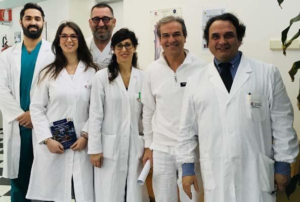 L'equipe del professor Tirelli