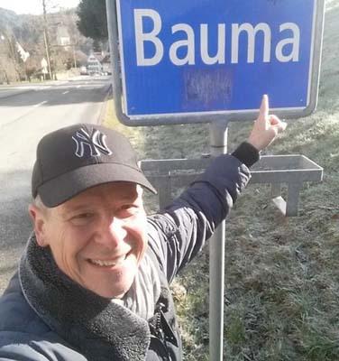 Mauro Buoro nel suo paese natale