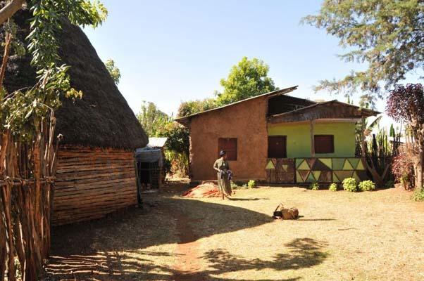 Villaggio etiope