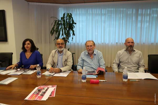 Da sinistra Maggi, Giusa, Tramontin e Poletto