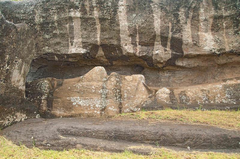 Moai incompiuto (ph. C. Pizzin)