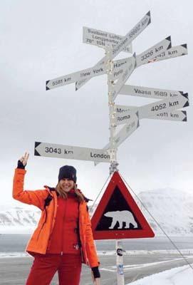 Paola Catapano, capo progetto PolarQuest 2018
