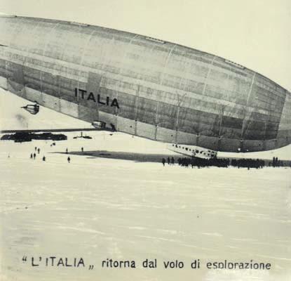 L'Italia ritorna dal volo di esplorazione (arch. M. Tomaselli)