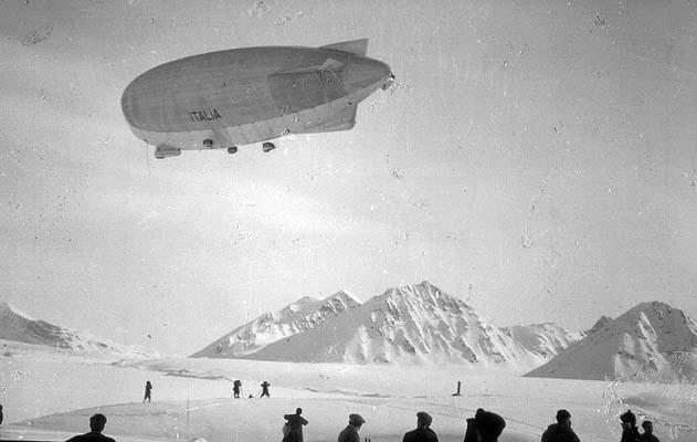 Il Dirigibile Italia alle isole Spitzbergen