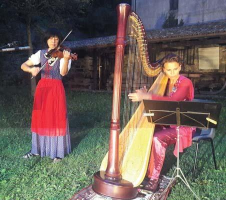 Masuda in concerto con Tatiana Donis