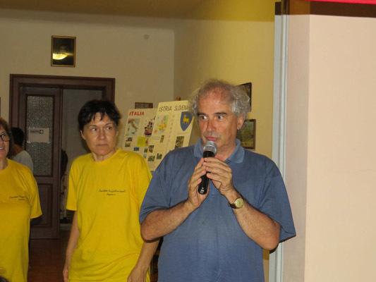 Il sindaco di Aiello, Andrea Bellavite (ph. L. Nonis)