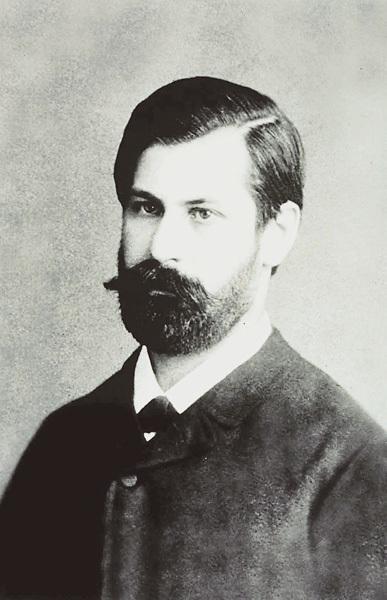 Sigmund Freud in una foto da giovane