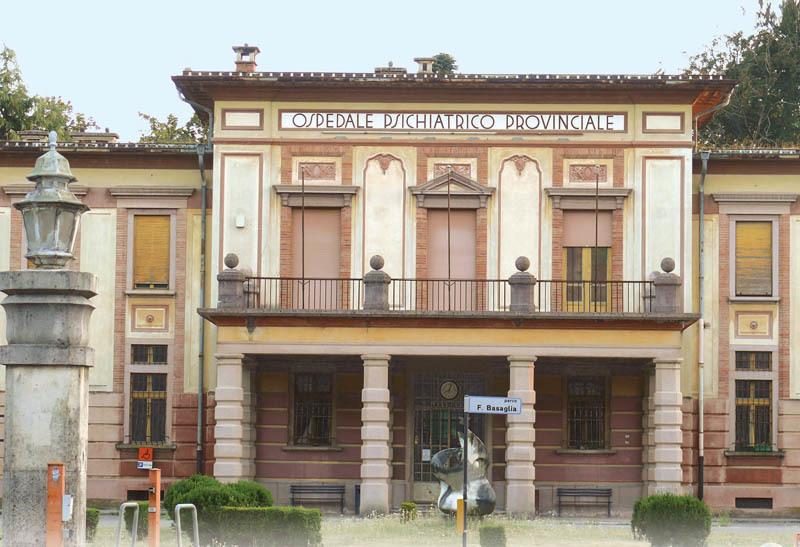 Il vecchio manicomio di Gorizia, in cui operò Franco Basaglia