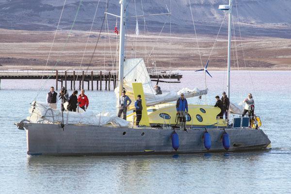 L'imbarcazione Nanuq di Polarquest (ph. M. Tomaselli)